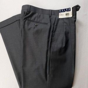 New Mens Ralph Lauren Wool Dress Pant 32x30
